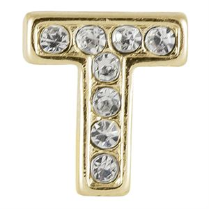 Picture of Gold 'T' Charm