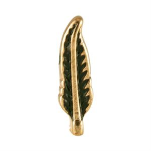Picture of Gold Feather Charm